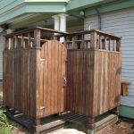 Outdoor Showers at Beach House