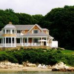 Custom Beach House on Water